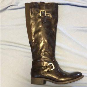 Dark brown great northwest boots